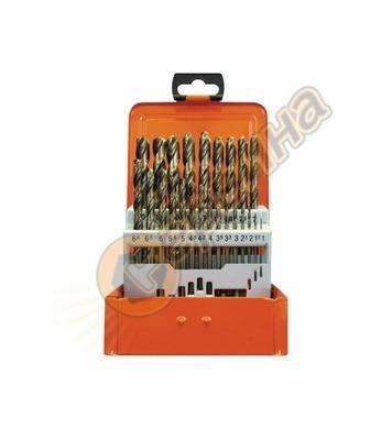 Комплект кобалтови свредла за метал HSS-Co Projahn 60381 - 1
