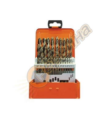 Комплект кобалтови свредла за метал HSS-Co Projahn 60386 - 2