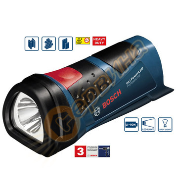 Акумулаторен фенер Bosch GLI 10.8 V-LI 0601437U00 - 10.8V
