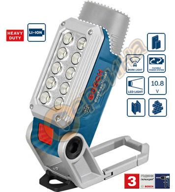 Акумулаторна работна лампа Bosch GLI 10.8 V-LI 06014A0000 -