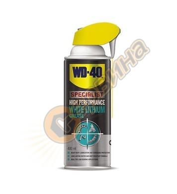 Бяла литиева грес WD-40 Smart straw 060200 - 400мл