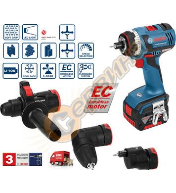 Акумулаторен винтоверт Bosch GSR 14.4 V-EC FC2 06019E1001 -