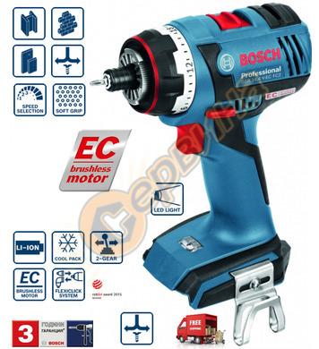 Акумулаторен винтоверт Bosch GSR 14.4 V-EC FC2 06019E1002 -