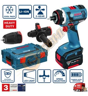 Акумулаторен винтоверт Bosch GSR 14.4 V-LI HX 06019E1003 - 1