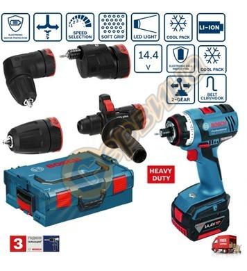 Акумулаторен винтоверт Bosch GSR 14.4 V-LI HX Set 06019E1000