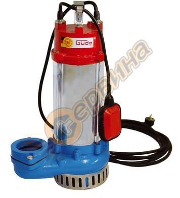 Потопяема помпа за изпомпване на замърсена вода Gude PRO 220
