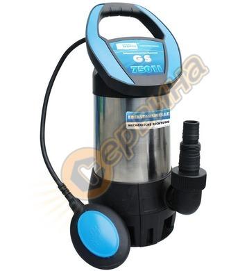 Потопяема помпа за изпомпване на замърсена вода GUDE GS 7501