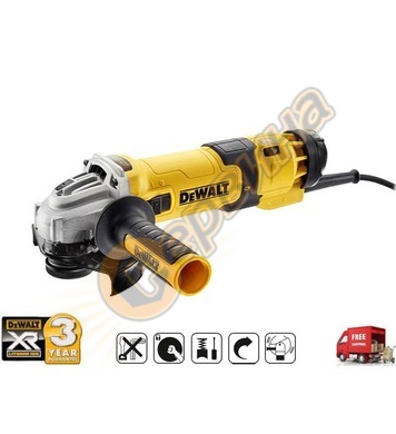 Ъглошлайф DeWalt DWE4257 - 1500W - 125мм