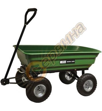 Градинска количка с четири колела ремарке Gude GGW 250 94336