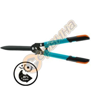Механична ножица за жив плет със зъбна предавка Gardena Comf
