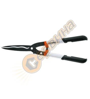 Механична ножица за жив плет със зъбна предавка Gardena Prem