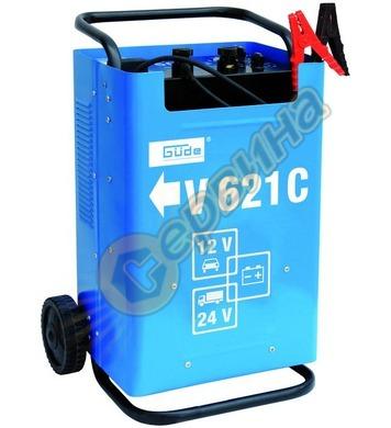 Зарядно за акумулатор GUDE V 621 C 12V 24V  85075