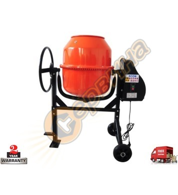 Бетонобъркачка - миксер за бетон Ferros Tools  ST120L 120л -