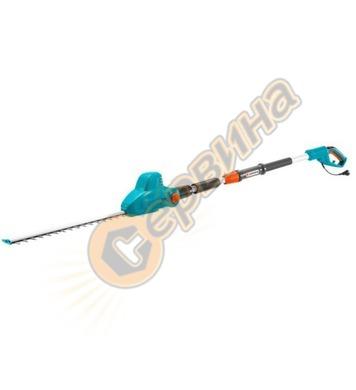 Електрически телескопичен храсторез за жив плет Gardena THS