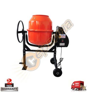 Бетонобъркачка - миксер за бетон Ferros Tools  ST140L 140л -