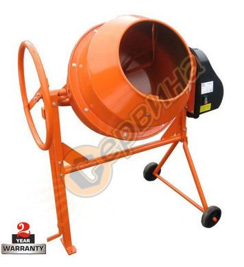 Бетонобъркачка - миксер за бетон Pezal PBZ260B1150WB 260л -