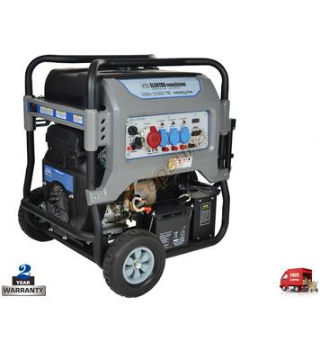 Бензинов генератор Elektro Maschinen GSEm 12500 TBE 39125000