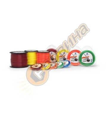 Кръгла корда за тример Husqvarna 578437501 - 2.4мм/90м