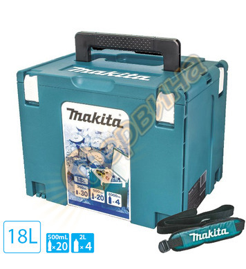 Пластмасов хладилен куфар Makpac 4 Makita 198253-4 - 315х395