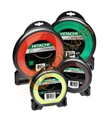 Кръгла корда за тример Hitachi 781091 - 1.3мм/15м