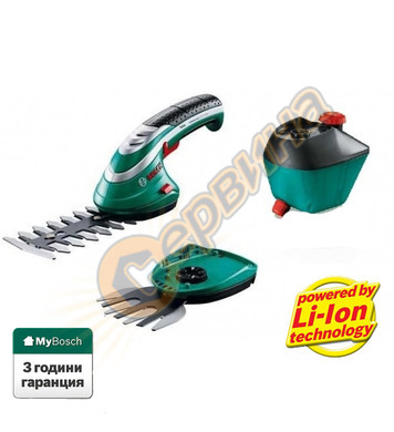 Акумулаторна ножица за трева и храсти Bosch Isio 060083310G