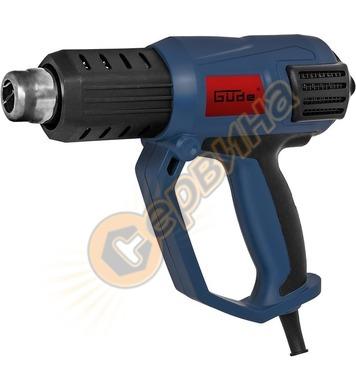 Пистолет за горещ въздух GUDE HLG 650-2000 2000W  58121