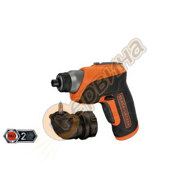 Акумулаторна отвертка Black&Decker CS3652LC - 3.6V/1.5Ah Li-