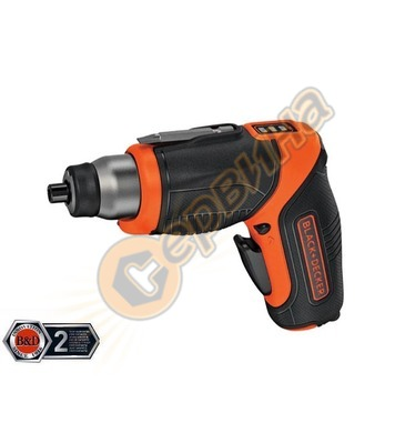 Акумулаторна отвертка Black&Decker CS3653LC - 3.6V/1.5Ah Li-