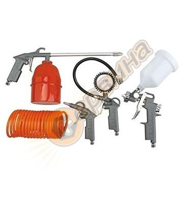 Комплект пневматични накрайници Scheppach 5 бр. 3906101704