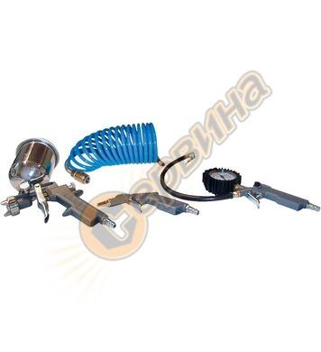 Комплект пневматични инструменти Gude 84092 - 4 части