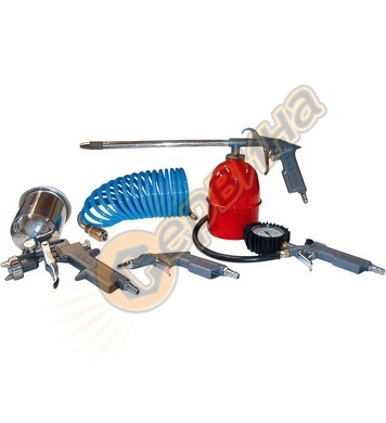 Комплект пневматични инструменти Gude 84089 -  5 части