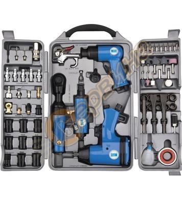 Комплект пневматични инструменти GUDE 71 части 40401