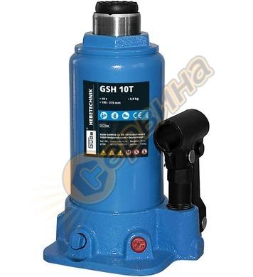 Хидравличен крик тип бутилка  GUDE GSH 10T 10тона 18042