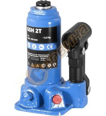 Хидравличен крик тип бутилка  GUDE GSH 2T капацитет 2 т  180