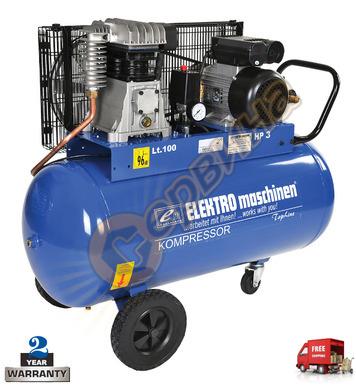Компресор Elektro Maschinen E351/9/100 903510009 - 100л/9бар