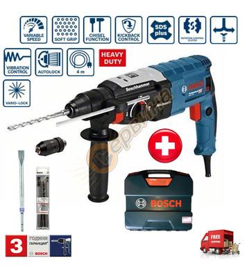 Комбиниран перфоратор Bosch GBH 2-28 F 0611267608 + Комплект