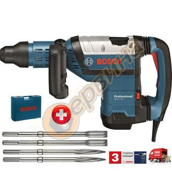 Къртач Bosch GSH 7 VC 0611322002 + Комплект шила и секачи в