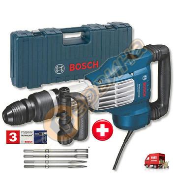 Къртач Bosch GSH 11 VC 0611336001 + Комплект шила и секачи в