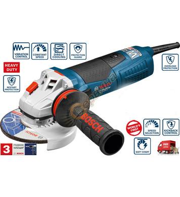 Ъглошлайф Bosch GWS 19-125 CIE 060179P001 + Комплект керамич