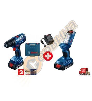 Акумулаторен пробивен винтоверт Bosch GSR 180-LI 0615990J78