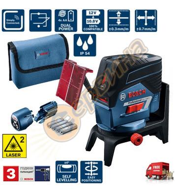 Линеен лазерен нивелир Bosch GCL 2-50 C 0601066G00 - 20м