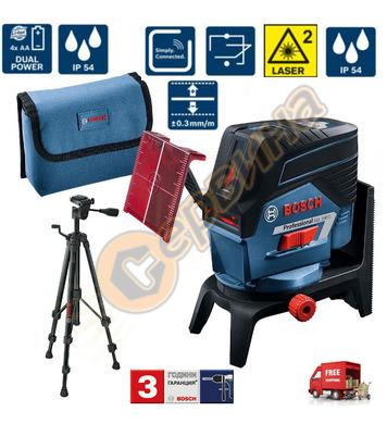 Линеен лазерен нивелир Bosch GCL 2-50 C 0601066G02 - 20м