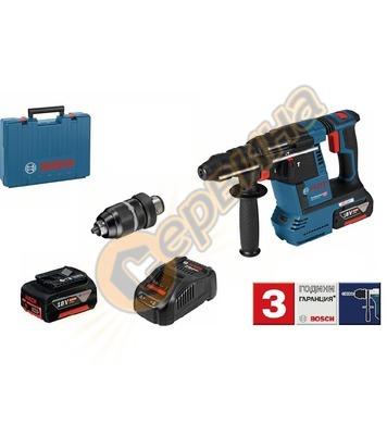 Акумулаторен перфоратор Bosch GBH 18V-26 F 0611910003 - 18V/