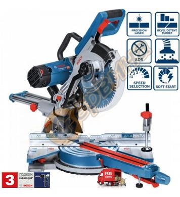 ПОтапящ настолен циркуляр Bosch GCM 350-254 0601B22600 - 180