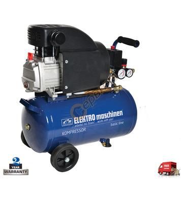 Маслен компресор Elektro Maschinen E241/8/24 902302481 - 24л