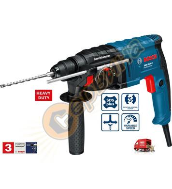 Комбиниран перфоратор Bosch GBH 2-20 D 061125A400 - 650W