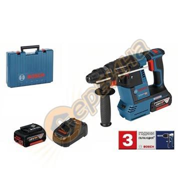 Акумулаторен перфоратор Bosch GBH 18V-26 0611909003 - 18V/6.