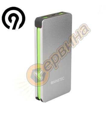 Външна батерия NINETEC NT-609, 9.000mAh с букса за iPhone