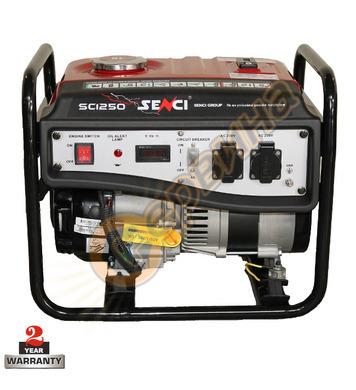 Бензинов генератор Senci SC-1250 - 1.0 KW