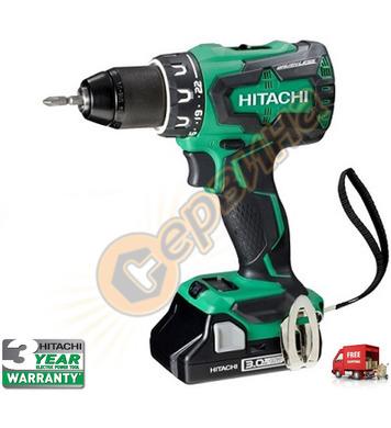 Акумулаторен винтоверт Hitachi DS18DBSL-WQ - 18V/3.0Ah/Li-Io